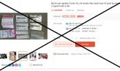 Cảnh báo: Không nên tự sử dụng test nhanh Covid-19 bán trên mạng