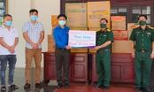 Thanh niên Bình Phước hỗ trợ lực lượng quân đội hàng trăm triệu đồng chống Covid-19