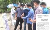 Công dân vào tỉnh Vĩnh Phúc bắt buộc phải khai báo y tế