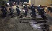 Ngăn chặn 2 nhóm thanh niên hỗn chiến, thu giữ nhiều hung khí nguy hiểm