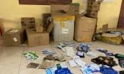 Hơn 10 nghìn sản phẩm mỹ phẩm không hóa đơn đang trên đường đi tiêu thụ thì bị bắt