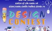 Phát động thi thiết kế 'Cùng nhau chiến thắng COVID-19'