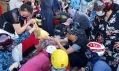 Nghệ An: Người dân đổ xô mua tích trữ thực phẩm trước tin đồn cách ly xã hội theo Chỉ thị 16