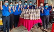 Ấm lòng những hũ thức ăn tự chế biến của tuổi trẻ Bình Phước gửi tâm dịch Bắc Giang