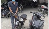 Thanh Hoá: Bắt giữ đối tượng liên tiếp gây ra hàng chục vụ trộm cắp xe máy