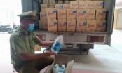 Hơn 1 nghìn can nước giặt nhãn hiệu FineLine, D-nee bị thu giữ tại Thái Nguyên