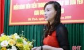 Hà Tĩnh có tân Giám đốc Sở GD&ĐT