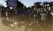 Hải Phòng: Lao lên vỉa hè, 2 thanh niên đi xe máy thương vong