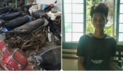 Kon Tum: Bắt đối tượng chuyên trộm cắp xe máy