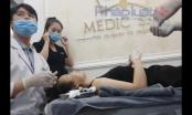 """Hà Nội: Viện thẩm mỹ Medic-skin """"lén lút"""" hoạt động"""