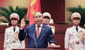 Chủ tịch nước Nguyễn Xuân Phúc nhiệm kỳ 2021 - 2026 tuyên thệ nhậm chức