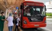 Hậu Giang tổ chức xe đón công nhân từ TP Hồ Chí Minh về quê nhà