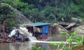 Ngang nhiên khai thác khoáng sản trái phép trên lòng hồ thủy điện Văn Chấn?