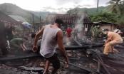 Hỏa hoạn thiêu rụi 3 căn nhà gỗ ở xã biên giới Nghệ An