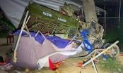 Gia đình 5 người gặp nạn khi đi xe ba gác về quê