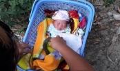 Mở chiếc giỏ nhựa màu xanh phát hiện bé gái sơ sinh nặng 3,2 kg