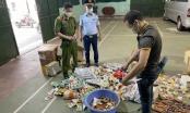 Mua thực phẩm trôi nổi, cửa hàng Hùng Cường ở Bắc Giang bị xử phạt