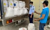 Dùng xe luồng xanh chở 8.125kg hóa chất xử lý nước không có nhãn phụ tiếng Việt Nam