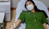 Nữ cán bộ Công an Hà Tĩnh hiến máu cứu bệnh nhân qua cơn nguy kịch