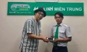 Đà Nẵng: Lái xe taxi trả lại điện thoại cho du khách Nhật Bản