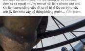 Đà Nẵng: Kiểm điểm dân quân xì lốp xe máy người dân trong trụ sở phường