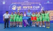 Đà Nẵng: Xác định đội nữ vô địch giải bóng chuyền One River Cup 2018