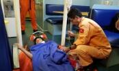 Cứu nạn thuyền viên tàu cá bị thương nặng vùng cổ