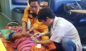 Cứu nạn thuyền viên tàu cá bị tai biến mạch máu não tại ngư trường Hoàng Sa