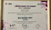 Đà Nẵng nhận giải thưởng ASOCIO Smart City 2019
