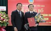 Bổ nhiệm tân Chánh án Tòa án nhân dân tỉnh Quảng Nam và TP Đà Nẵng