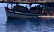 Cứu nạn thuyền viên tàu cá bị tai biến gần quần đảo Hoàng Sa