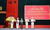 Công an tỉnh Quảng Nam điều động bốn lãnh đạo Công an đơn vị, địa phương