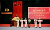 Công an Quảng Nam tiếp tục công bố quyết định về công tác cán bộ