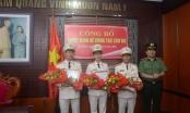 Đà Nẵng: Công an thành phố công bố quyết định bổ nhiệm nhân sự