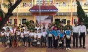 Công an Đà Nẵng trao gần 20 tấn sữa, nước trái cây... cho học sinh Quảng Ngãi