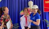 Trao suất học bổng đặc biệt đến hết Đại học cô học sinh nghèo vượt khó tại Quảng Nam