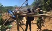 Quảng Nam: Truy quét khai thác vàng trái phép tại mỏ vàng Bồng Miêu