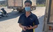 Một tài xế định vượt chốt kiểm soát để chuyển hàng vào Đà Nẵng