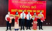 Đà Nẵng công bố các quyết định về công tác cán bộ