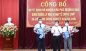 Bổ nhiệm 2 Phó Trưởng Ban quản lý Khu kinh tế Dung Quất và các KCN Quảng Ngãi