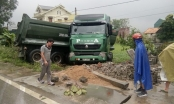 Nghệ An: Xe tải mất lái lao vào nhà dân