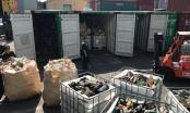 Phát hiện 20 container rác thải công nghiệp nhập khẩu