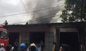 Nghệ An: Cháy dữ dội gần chợ Vinh