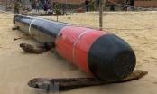 Ngư dân phát hiện vật thể nghi là ngư lôi tại vùng biển Phú Yên