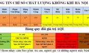 Hà Nội: Nhiều khu vực có chất lượng không khí kém