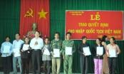 4.418 hồ sơ xin thôi quốc tịch Việt Nam trong năm 2018