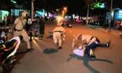 Nổ súng khống chế thanh niên đánh bảo vệ và dùng dao tấn công cảnh sát