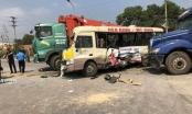 Tai nạn liên hoàn nghiêm trọng trên đại lộ Thăng Long, 7 người thương vong