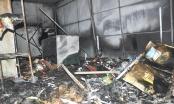 Quảng Trị: Quán phở và tiệm tạp hóa bị lửa thiêu rụi sau tiếng nổ lớn