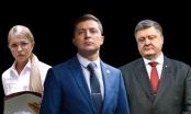 Danh hài đang dẫn đầu, 'cuộc chiến' tranh cử Tổng thống Ukraine nóng lên từng ngày